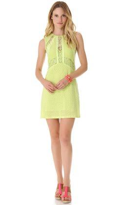 Pretty lime dress