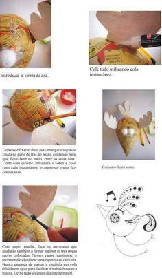 Apostila de Papel Maché by Carol W.
