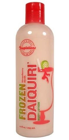 Bath & Body Works Temptations Frozen Daiquiri Body Lotion 10 oz by Temptations. $49.99. Bath & Body Works Temptations Frozen Daiquiri Body Lotion 10 fl oz.   There's nothing like a fresh cocktail of sweet, seductive strawberries. Go ahead, drench yourself from head to toe. Quench your skin with this fesh-from-the-blender indulgent body cocktail. Smooth over skin to moisturize and fragrance. Have another. Oh, all right - just one more. Indulge. Delight. Here's to you!