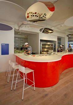 #Diseño moderno de #restaurantes