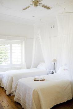 dreamy white bedroom - Guest Bedrrom?