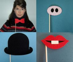DIY Costumes on a Stick