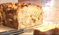 Challah Kugel - don't worry if you have leftover challah, it makes a very comforting kugel.