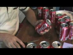 Coke Can Plane Part 1