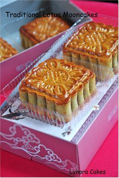 Traditional Lotus Mooncakes