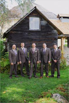 purple groomsman ideas