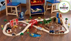 Farm Train Set #toddler #toy #playtime