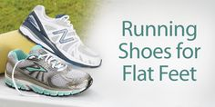 Finding running shoes for flat feet can be difficult. In general, shoes that offer motion control and extra stability features may be the best options for people with flat feet. Read more helpful tips here.