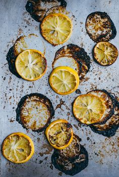 Roasted lemons.