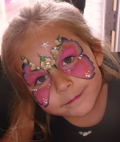 If you're doing church for kids on easter: how about butterfly facepainting? Just a tidge more biblical than the Easter Bunny!