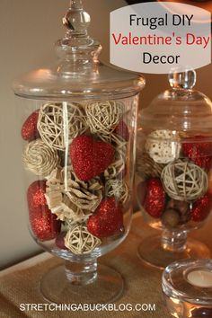11 Frugal DIY Valentines Decoration Ideas