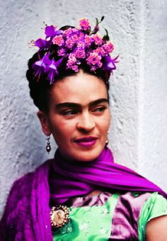 Frida Kahlo ~ in color