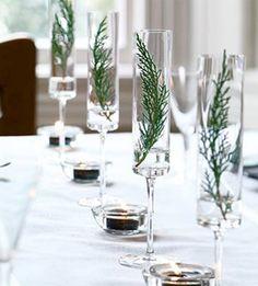table settings, christmas holidays, holiday centerpieces, christmas tables, christmas decorations, table centerpieces, holiday decor, champagne flutes, holiday tables
