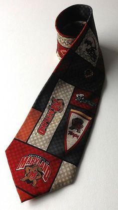 University of Maryland TERRAPINS Neck Tie