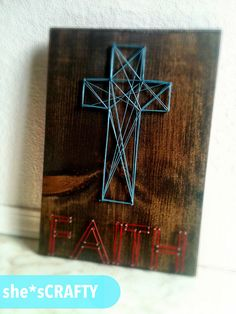 Love this DIY cross!