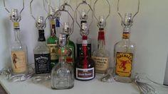 Liquor Bottle Lamps by EverytingAwesome on Etsy, $29.00