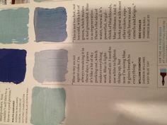 Coastal Paint Colors On Pinterest Benjamin Moore