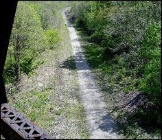 Panhandle Trail , Walkers Mill, PA.