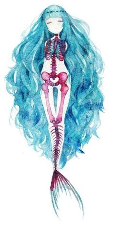 Mermaid bones