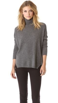 Evelina Cashmere Hi Lo Top by Velvet--anything cashmere!