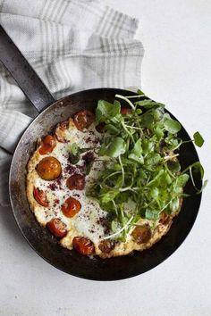 Egg-White & Ricotta Omelette