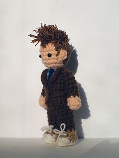 Martian Boy by Kati Galusz Free Pattern: http://www.ravelry.com/patterns/library/martian-boy #TheCrochetLounge #DrWho Collection