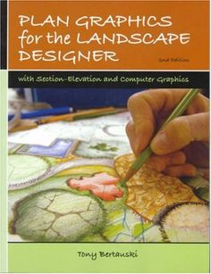 Plan Graphics for the Landscape Designer (2nd Edition) by Tony Bertauski http://www.amazon.com/dp/0131720635/ref=cm_sw_r_pi_dp_yvl.tb1F5CQZV
