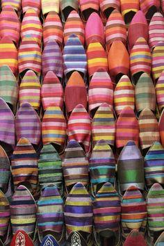 Colorful Moroccan Shoes - ZsaZsa Bellagio