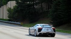 Lexus LFA by zonderf, via Flickr