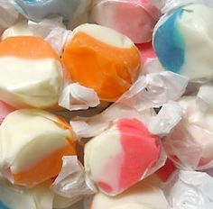 Fruit and Cream Salt Water Taffy 40 pieces per pound