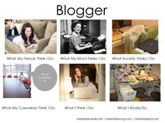 What Bloggers Really Do