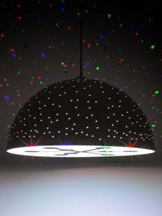 CMYK Constellation Pendant Light // star light