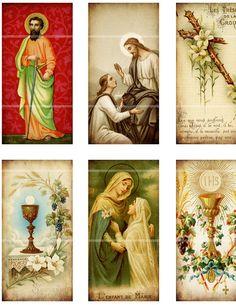 Antique Catholic Holy Cards