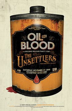 oil and blood