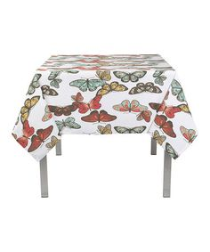 Take a look at this Flutter Tablecloth by Now Designs on #zulily today!