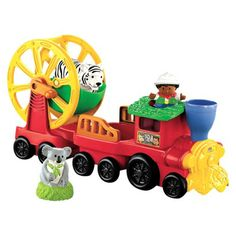 Fisher Price Zoo Talkers Animal Sounds Zoo Train