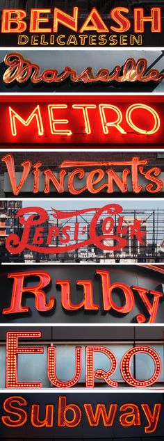 #signs #neon #red