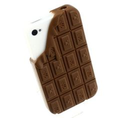 Amazon.com: 3D Three-dimensiond Chocolate Silicione Soft Case Cover for Iphone 4 4s: Arts, Crafts & Sewing