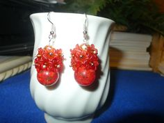 "Carmilita's Christmas Collection Dangle Earrings: ""Clarice"""