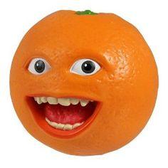 Annoying Orange Talking Orange    Creepy!