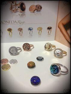 Mi Moneda NEW ring collection