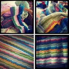 Scrappy Steps Afghan