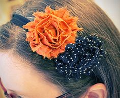 DIY Shabby Chic Headbands
