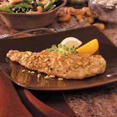 pecan crusted fish