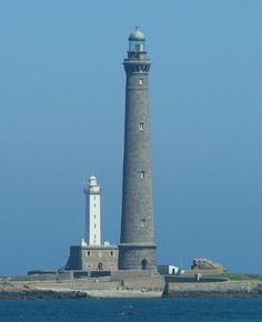 The tallest lighthouses in the world.  Ile Vierge. 82,5m. 1902. Finistere. France