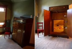 While growing up, I was fascinated and envious of the four kids in the classic book, 'The Chronicles of Narnia', who had their own secret, magical world inside a wardrobe.    When I came across this clever, secret wardrobe hideout, I realized that even at this age, I still wish I had one.    What do you think? What would you use it for?
