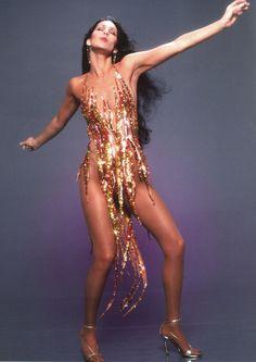 Cher in Bob Mackie.