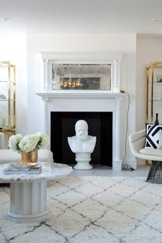 Very chic - love the brass eclecticallyvintage.com
