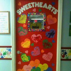 February door decoration for school