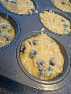 banana-blueberry-oatmeal-muffins